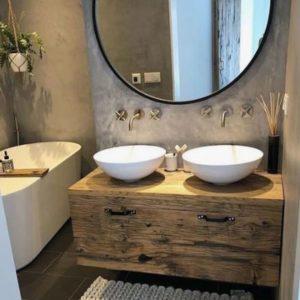 salle bain exotique