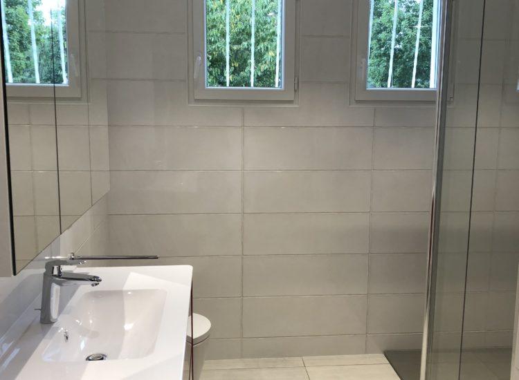 Rénovation d'une salle de bain à Pont du Château