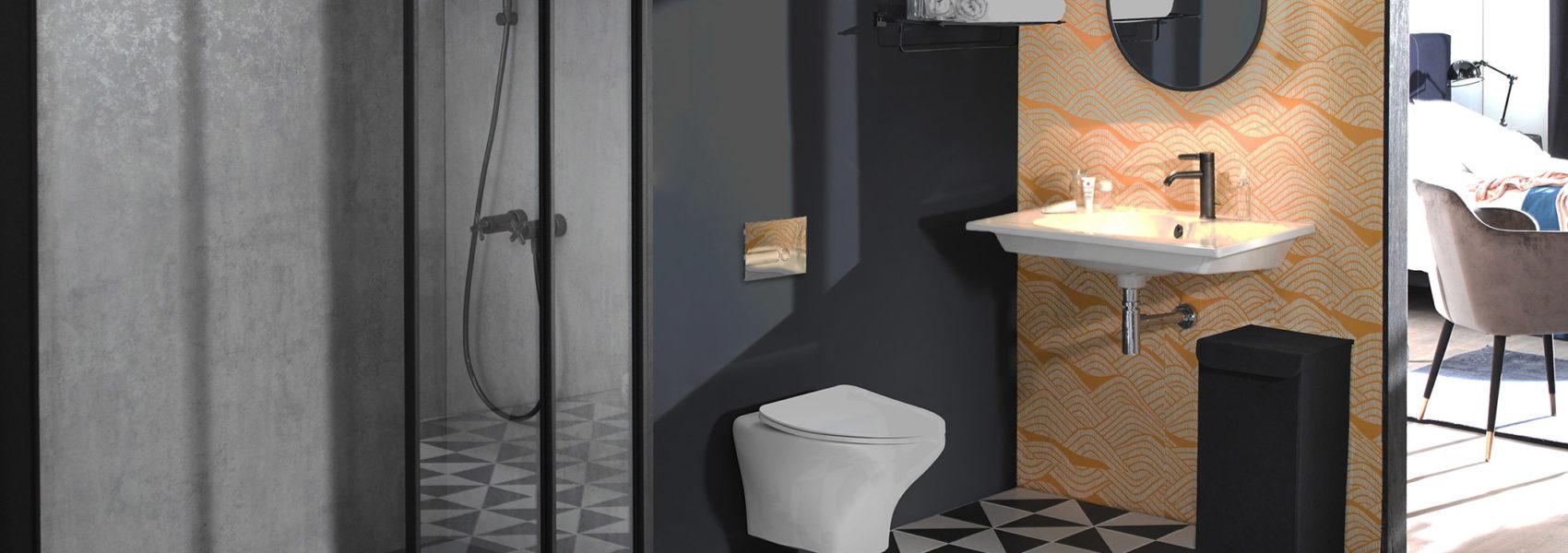 salle bain vintage